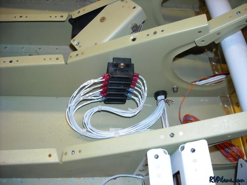Peachy Mike Bullocks Rv 7 Finished The Mid Fuselage Lighring Wiring Wiring Digital Resources Counpmognl